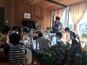 園芸教室〜みんなの寄植え〜