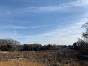 また景色のいい土地を買いました。八千代です